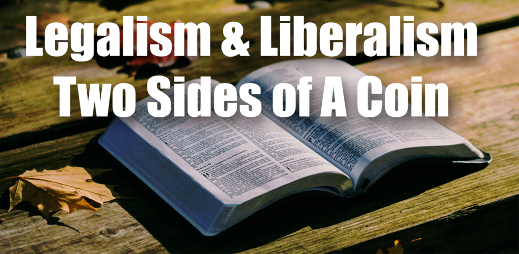 Legalism vs. Liberalism